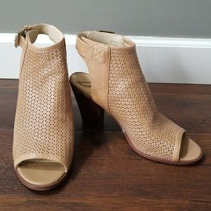 Sam Edelman Henri open toe leather booties 9